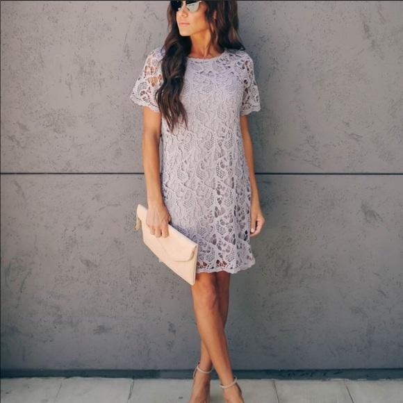 Vici The Best In Me Crochet Lace Shift Dress